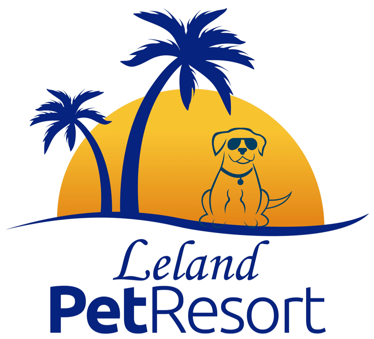 Leland Pet Resort Logo